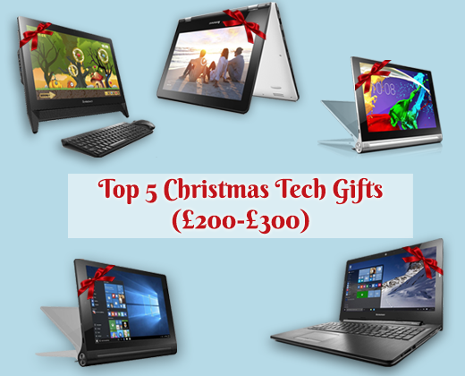 Top 5 Christmas Tech Gifts