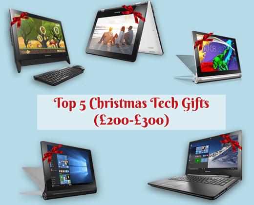 Top 5 Christmas Tech Gifts