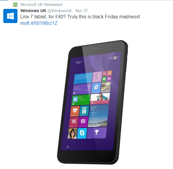 Windows Linx 7 Tablets