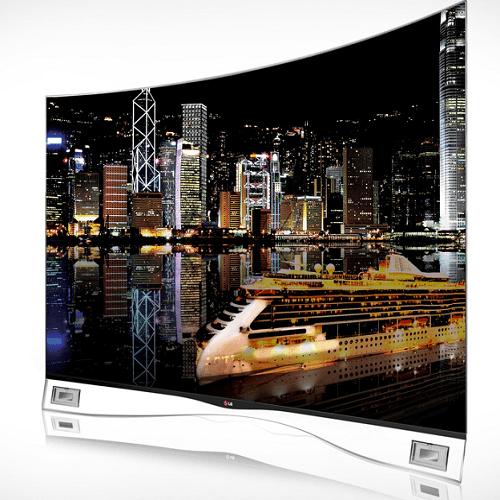 5)LG Curved OLED TV