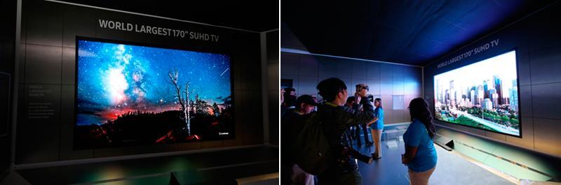 Samsung 170 inch modular TV