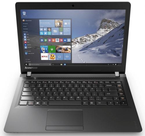 "Lenovo Ideapad 100 15.6"" Windows 10 Laptop"