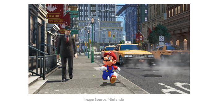 2012 Super Mario Odyssey for Nintendo switch