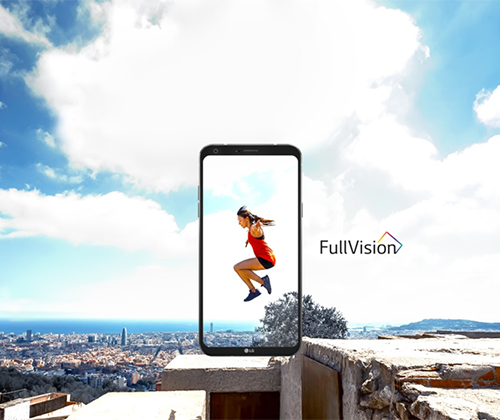 LG; LG Q6; Q6; smartphone; full vision; face recognition; technology, phone