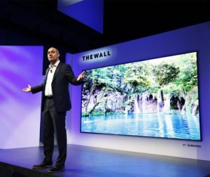 Samsung Launches Modular TV Called The Wall
