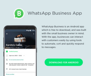 WhatsApp Launches New Business App